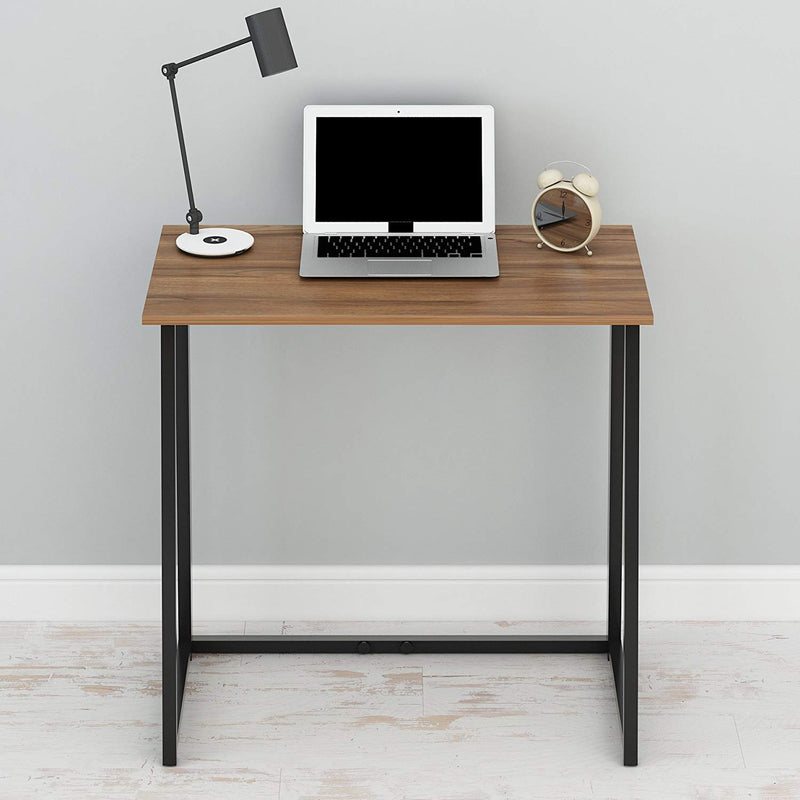 Compact Flip Flop Folding Computer Desk Home Office Laptop