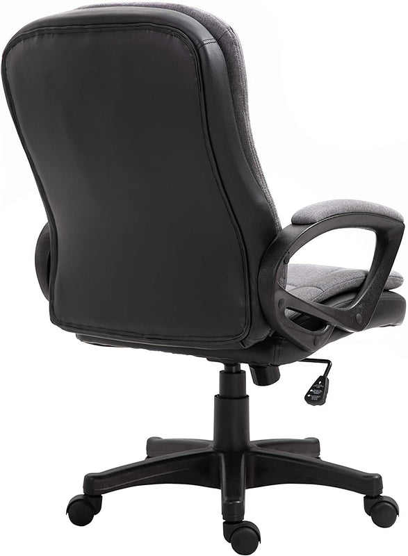 Jona Double Layer Padded Office Chair Grey 5