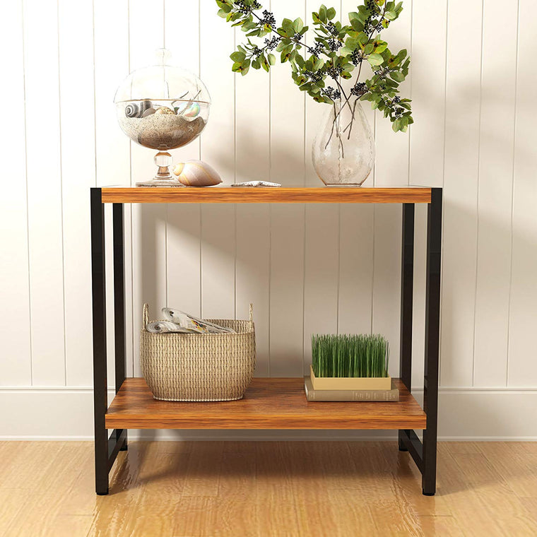 MORGAN Walnut Console Table Hallway Table Living Room Table