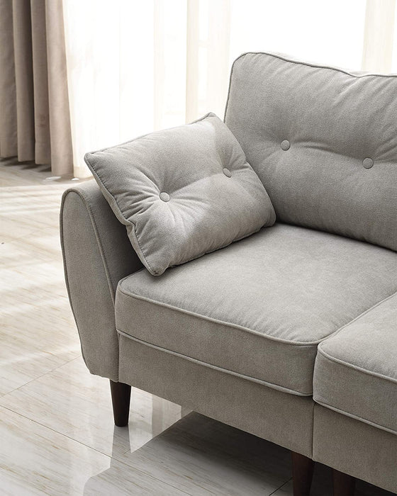 Brooks Fabric Sofa range in Stone Beige 15