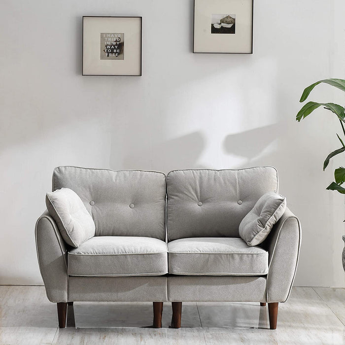 Brooks Fabric Sofa range in Stone Beige 2
