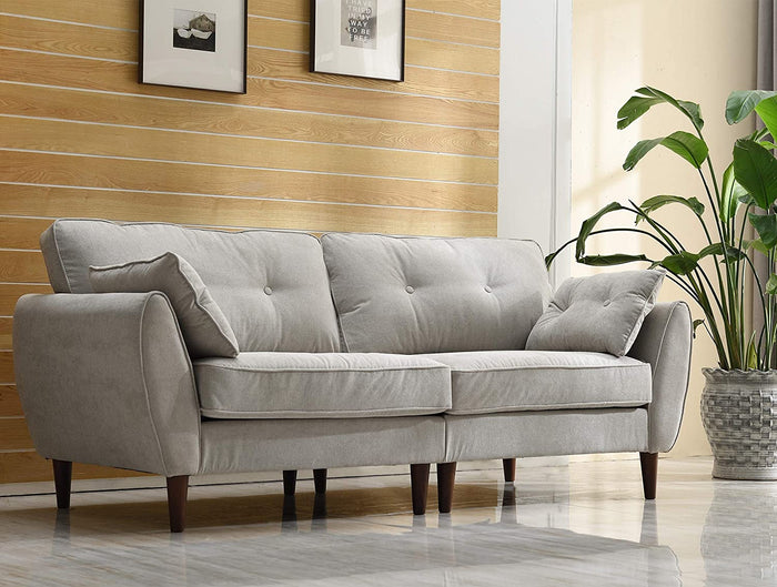 Brooks Fabric Sofa range in Stone Beige 12