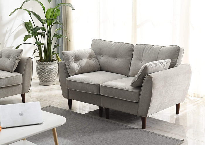 Brooks Fabric Sofa range in Stone Beige 3