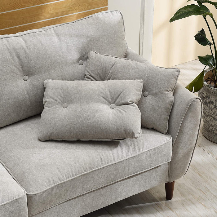 Brooks Fabric Sofa range in Stone Beige 16