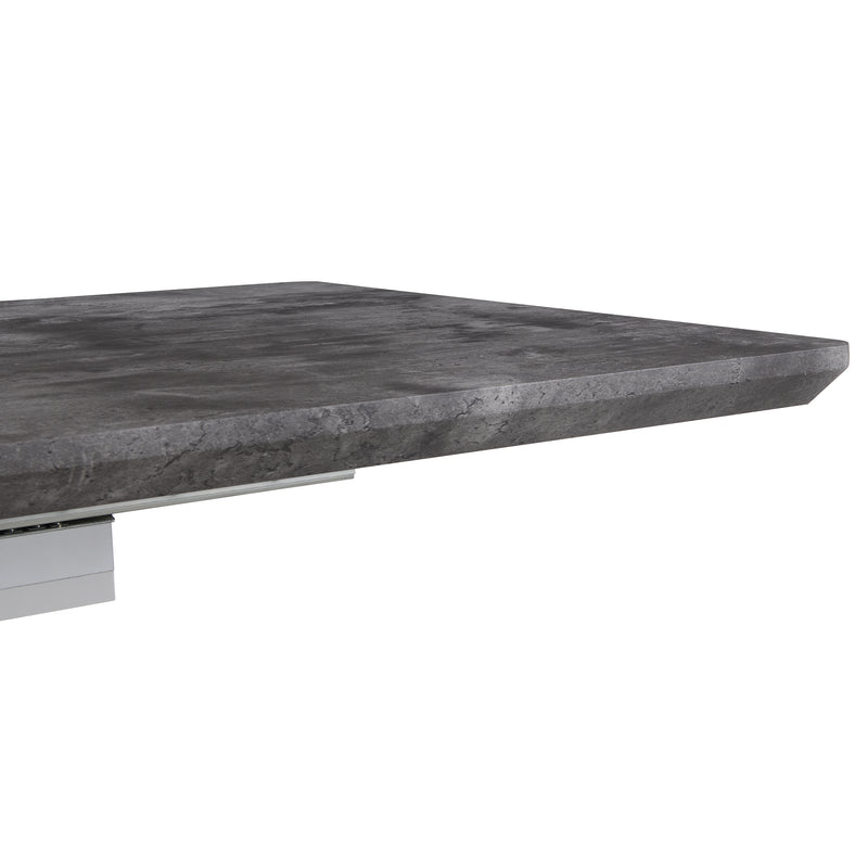 Goswell Concrete Effect Extending Dining Table 6 to 8 Seater 11