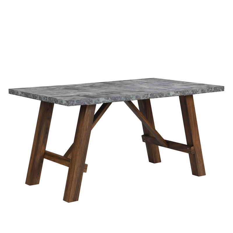 Lambeth Concrete effect 150cm Dining Table 2