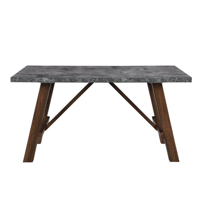Lambeth Concrete effect 150cm Dining Table 6