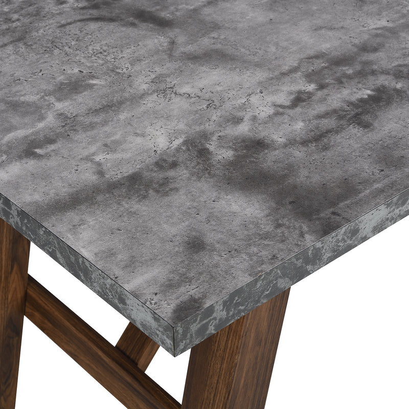 Lambeth Concrete effect 150cm Dining Table 7