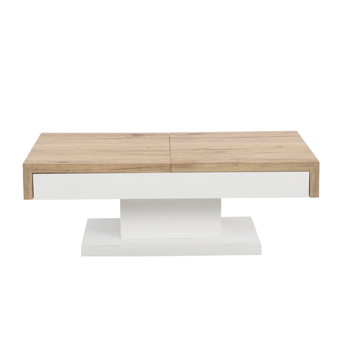 Blythe Two Block Sliding Storage Coffee Table 3