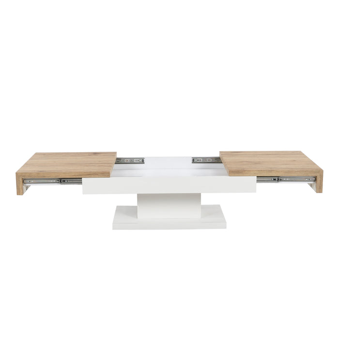 Blythe Two Block Sliding Storage Coffee Table 4