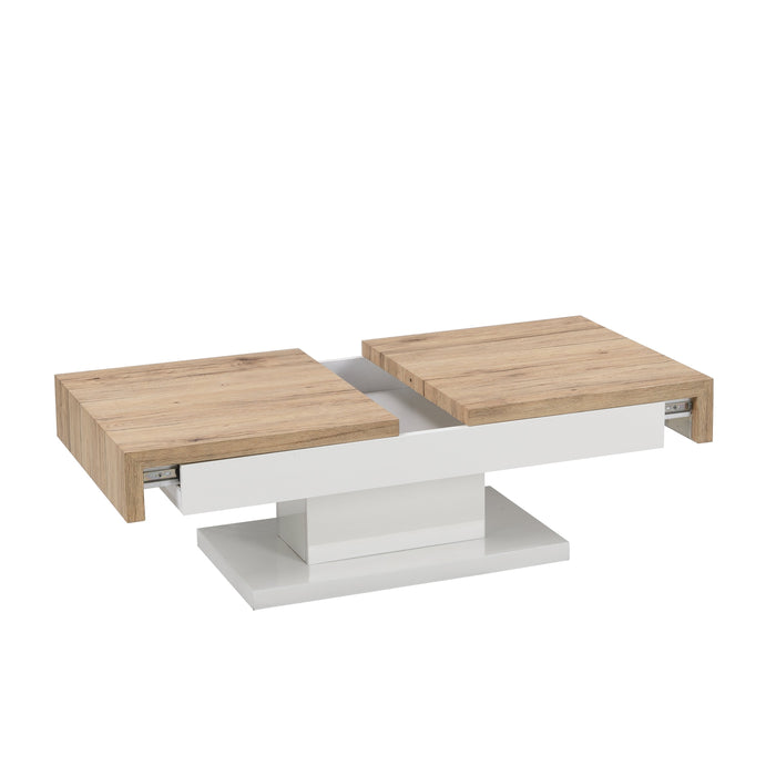 Blythe Two Block Sliding Storage Coffee Table 6