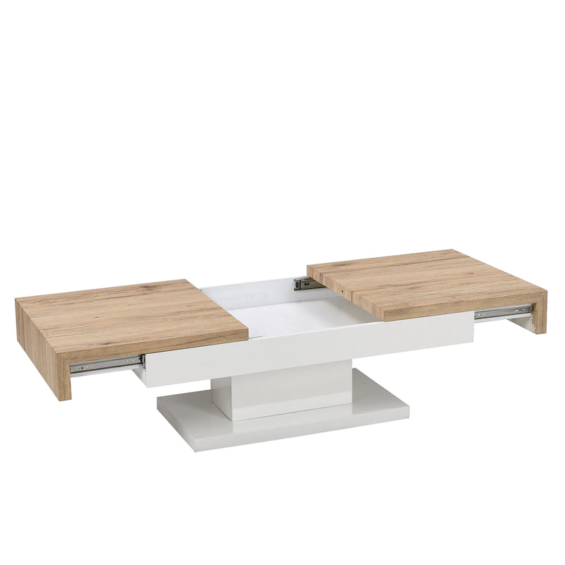 Blythe Two Block Sliding Storage Coffee Table 7