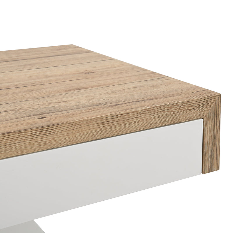 Blythe Two Block Sliding Storage Coffee Table 8