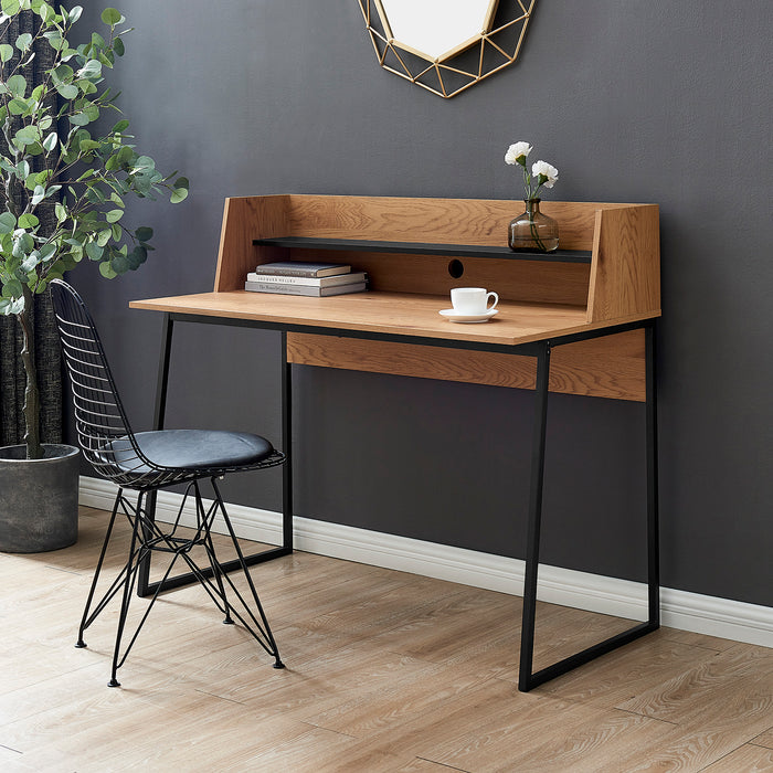 Moncton 120cm Office Desk with Shelf 1