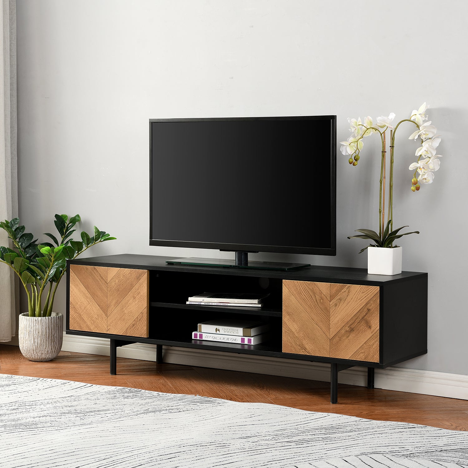 Brooklyn 140cm Wide TV Unit 1