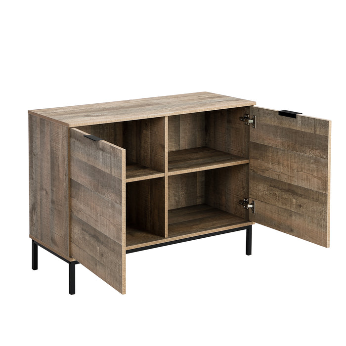 Selwyn 2 Door Storage Cabinet Sideboard 5