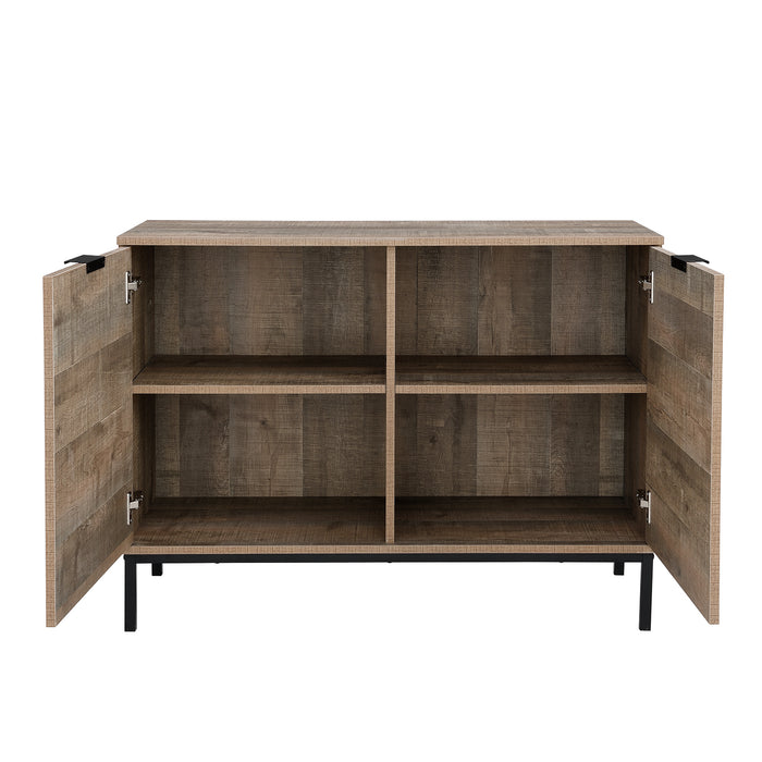 Selwyn 2 Door Storage Cabinet Sideboard 6