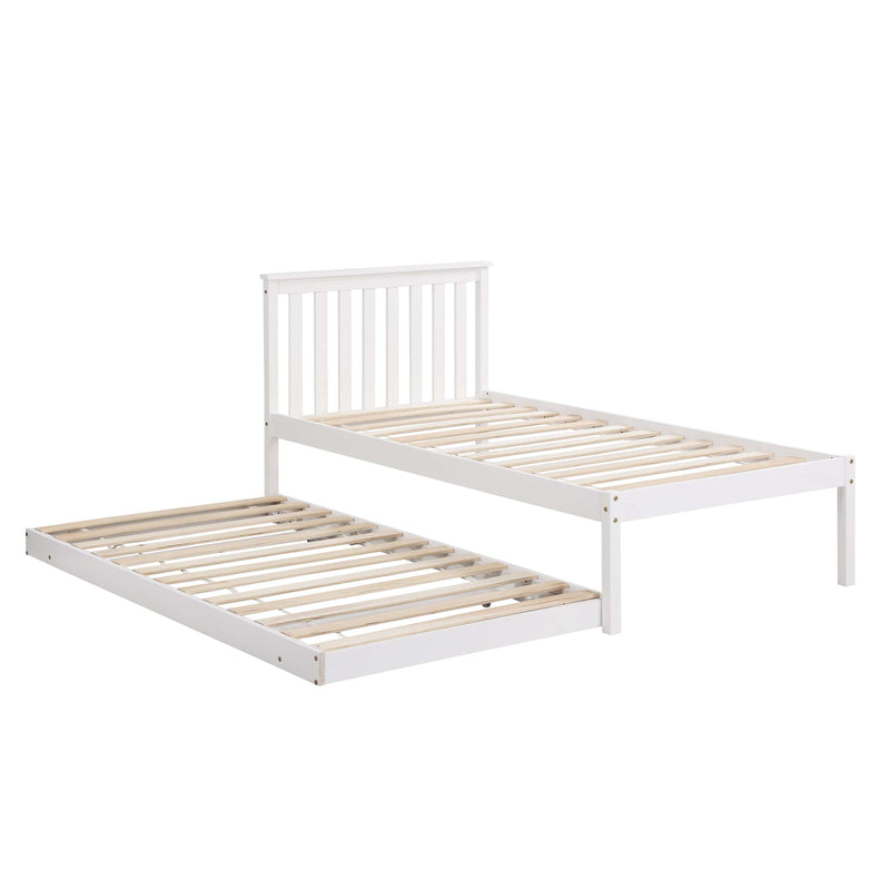 Fairfield FSC Certified Single Wooden Bed with Pop Up Trundle 6