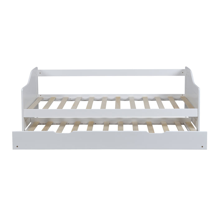 Benton FSC Certified Solid Wood Day Bed with Trundle 2
