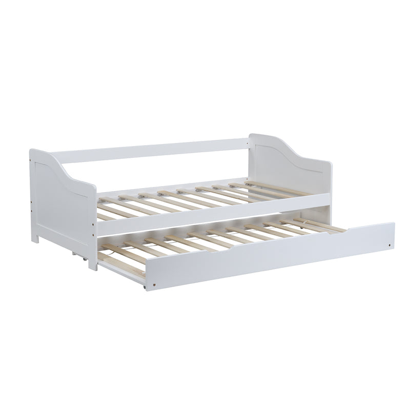 Benton FSC Certified Solid Wood Day Bed with Trundle 3