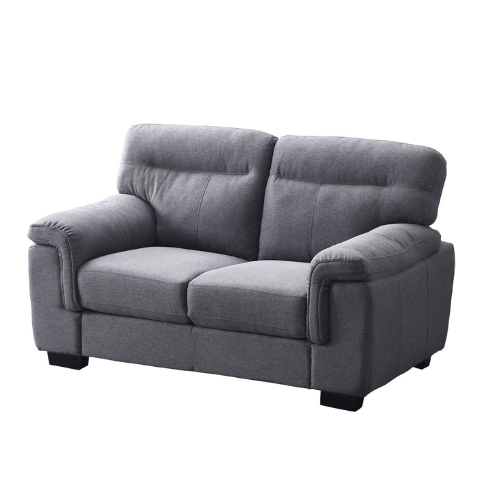 Meriden sofa range in Grey Fabric 6