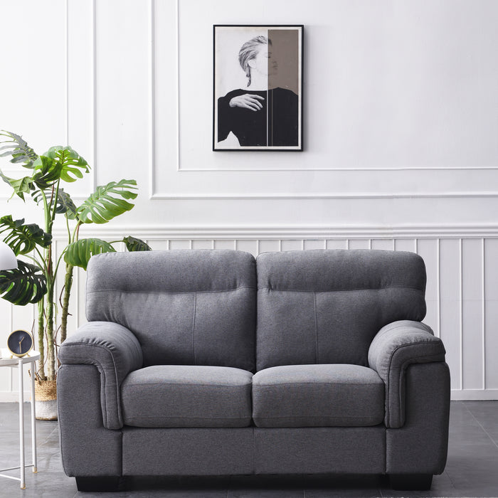 Meriden sofa range in Grey Fabric 5