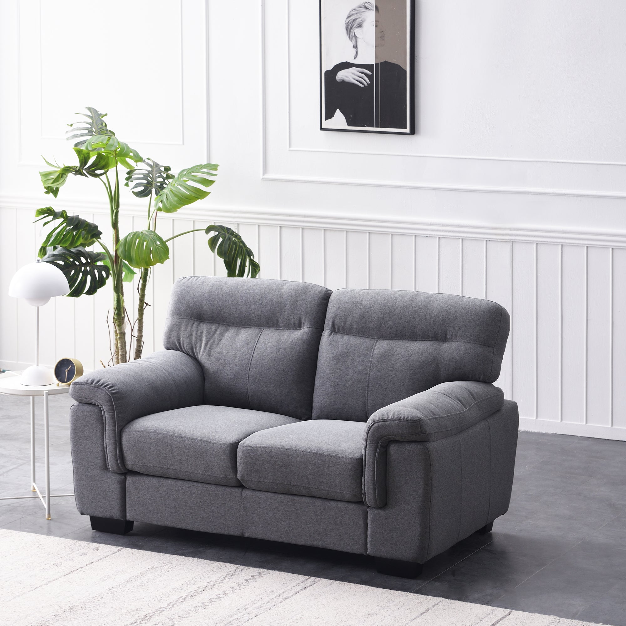 Meriden sofa range in Grey Fabric 1