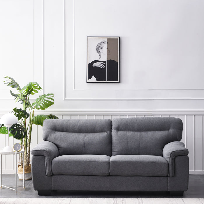 Meriden sofa range in Grey Fabric 3