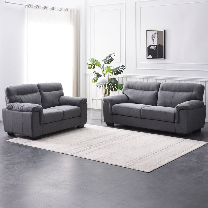 Meriden sofa range in Grey Fabric 7
