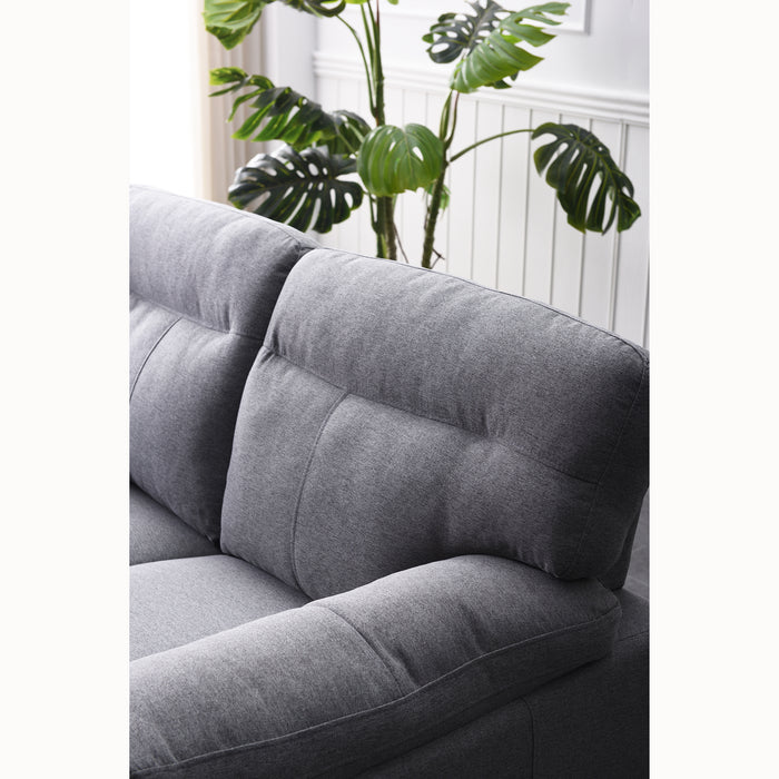 Meriden sofa range in Grey Fabric 8