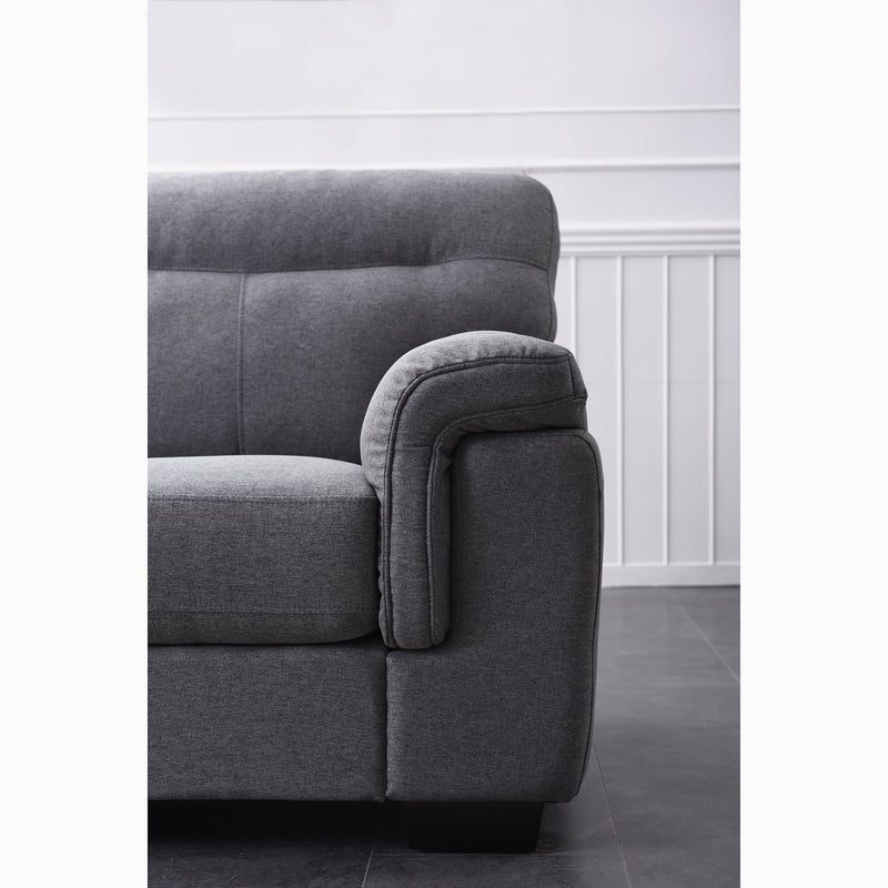 Meriden sofa range in Grey Fabric 9