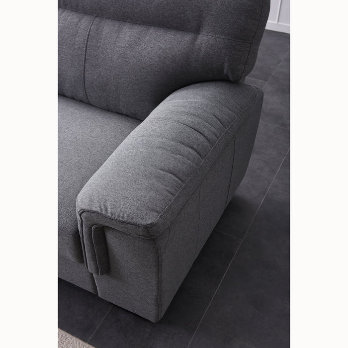 Meriden sofa range in Grey Fabric 11
