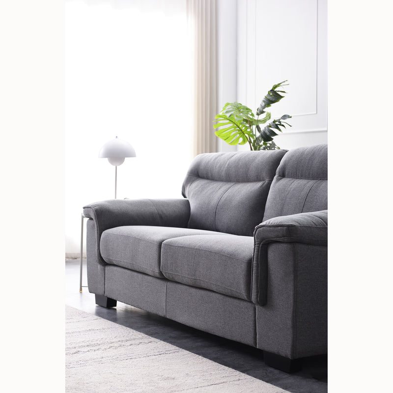 Meriden sofa range in Grey Fabric 12
