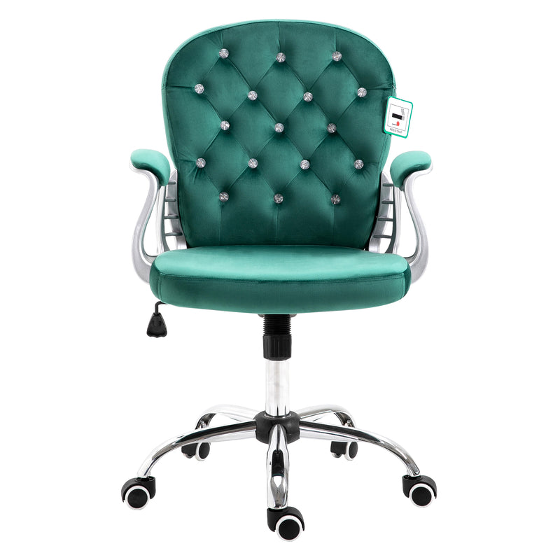 chesterfield-diamante-button-swivel-chair-with-chrome-feet-mo85-green-velvet-2