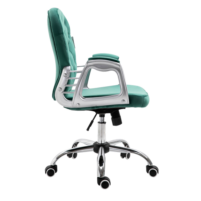 chesterfield-diamante-button-swivel-chair-with-chrome-feet-mo85-green-velvet-3