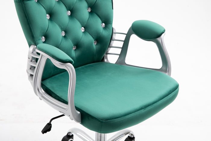 chesterfield-diamante-button-swivel-chair-with-chrome-feet-mo85-green-velvet-7