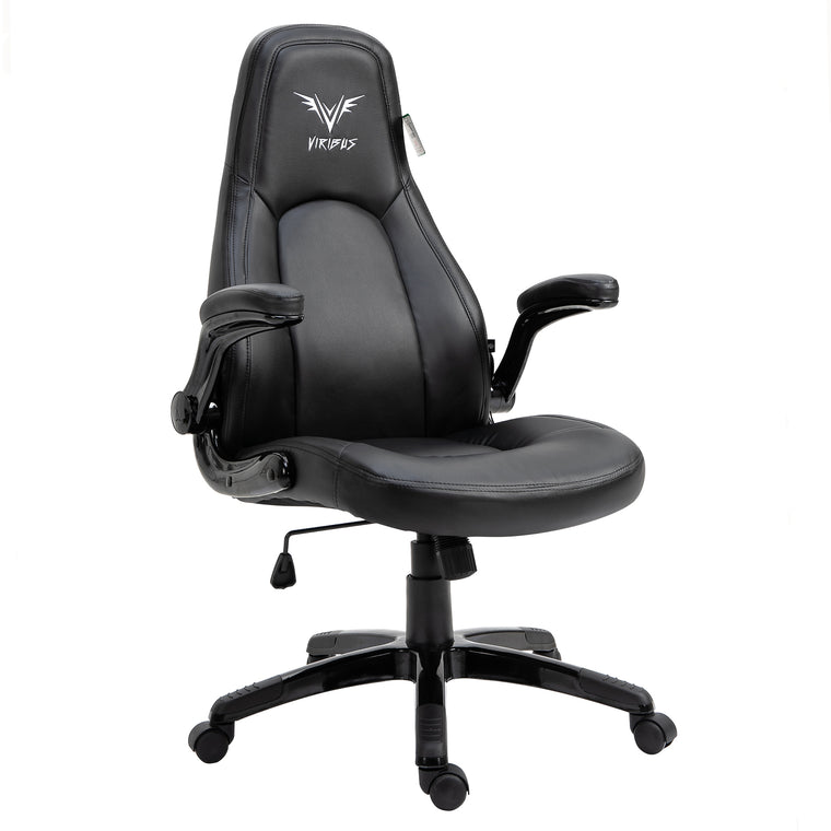 VIRIBUS X3 Black Faux Leather Gaming Chair