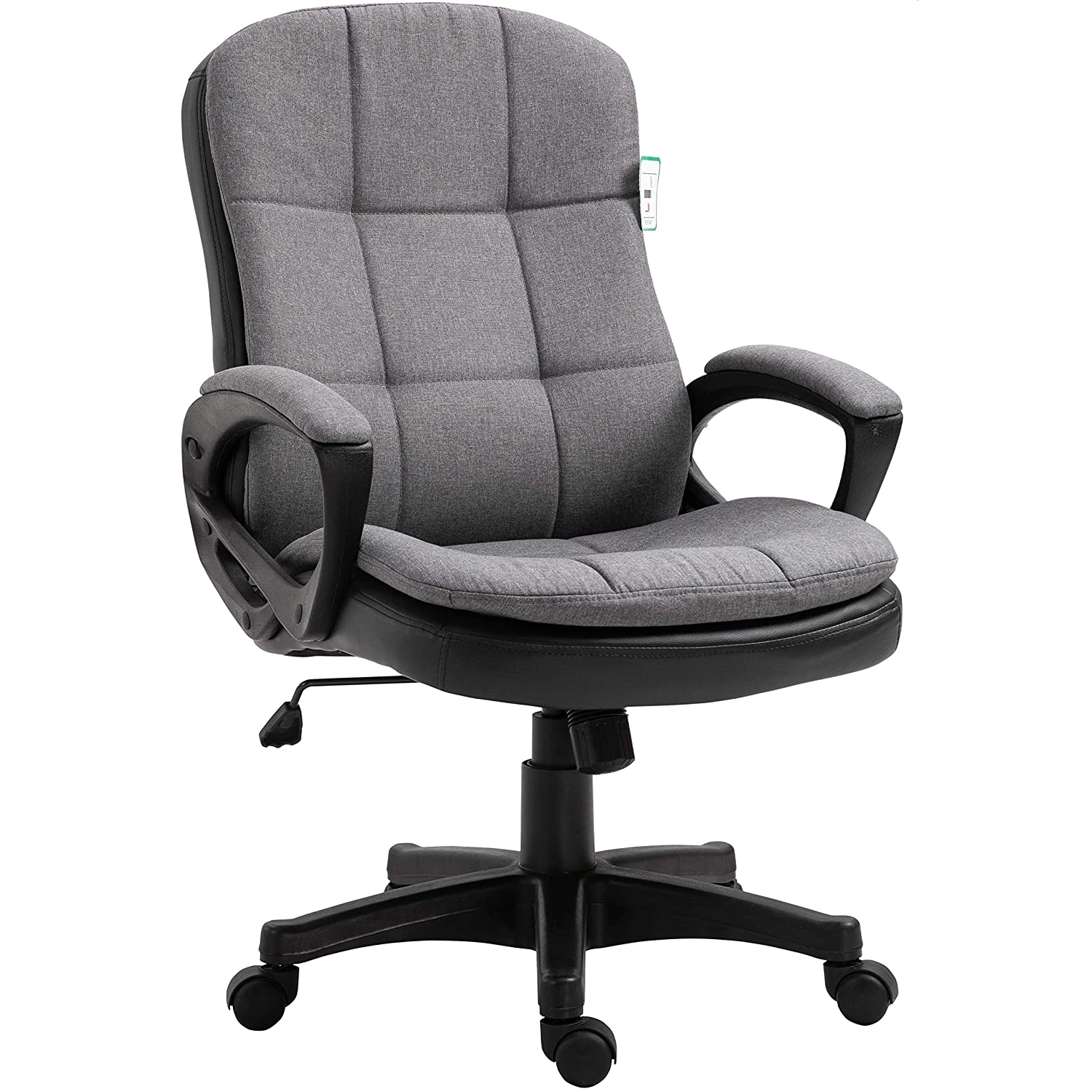 Jona Double Layer Padded Office Chair Grey