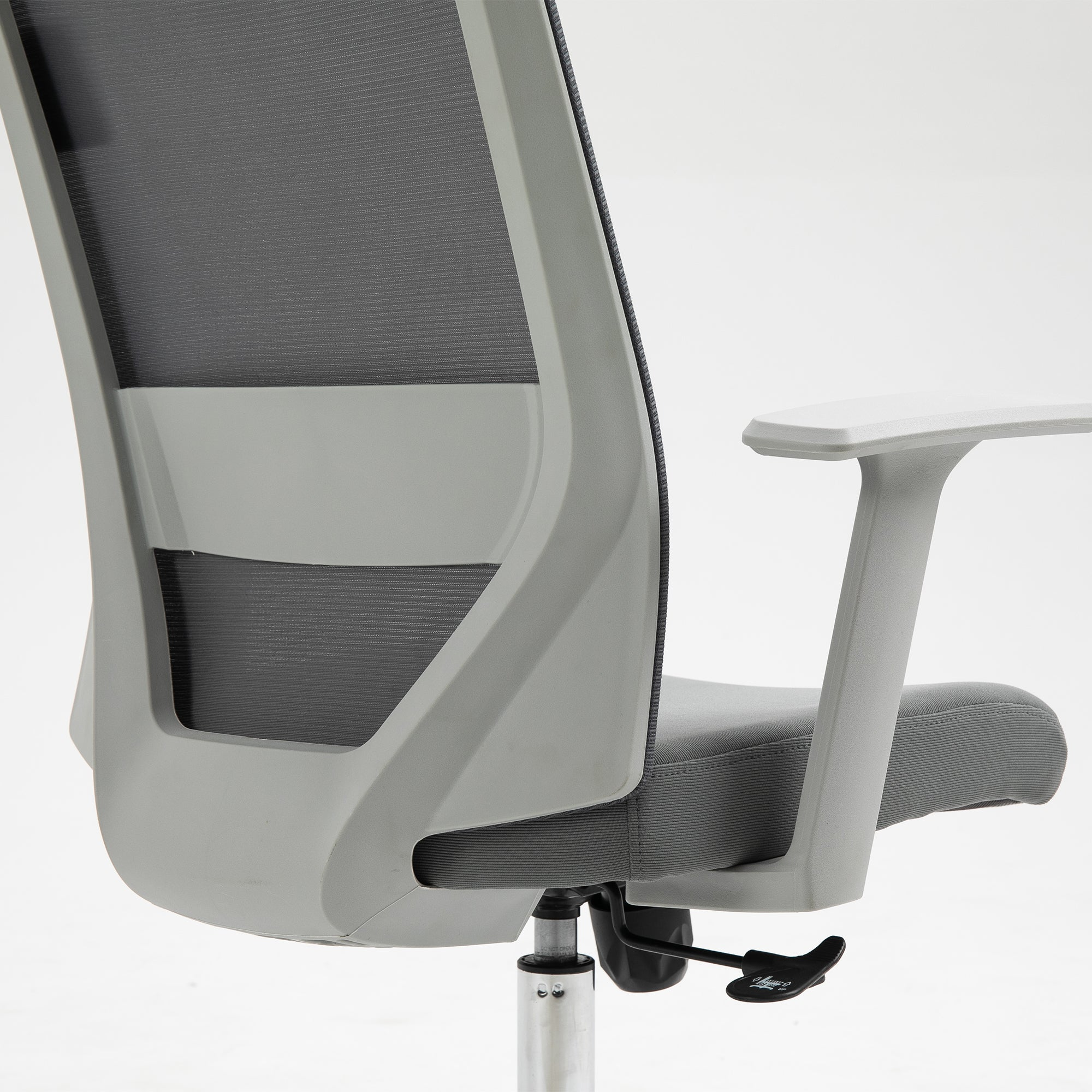 Image of: Joni High Back Mesh Office Chair With Headrest In Grey Shop Designer Home Furnishings