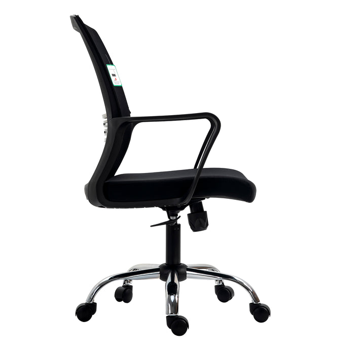 Haru Mid Back Mesh Office Chair in Black 3