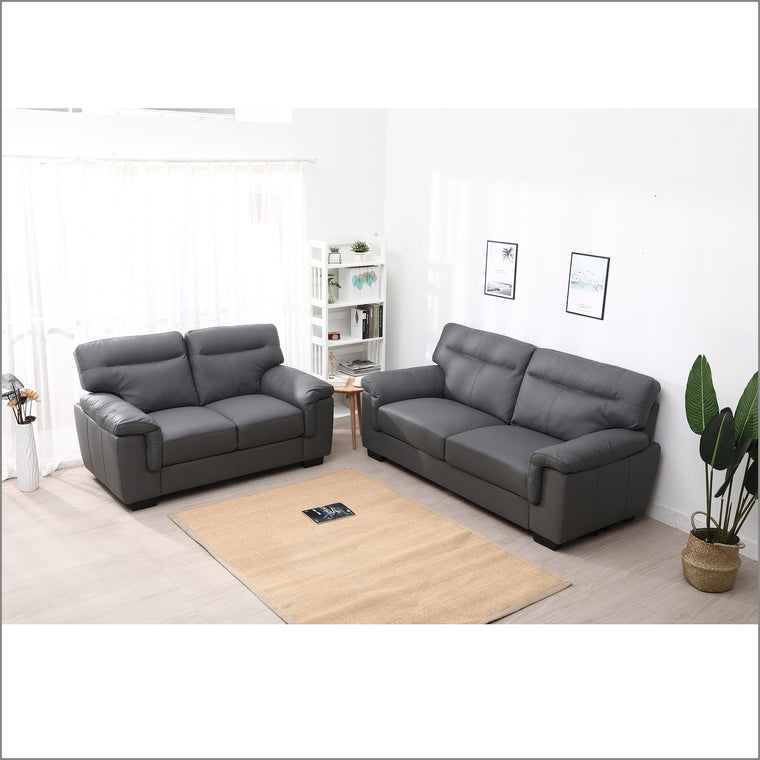 Meriden 3+2-Seater Sofas Set, Grey