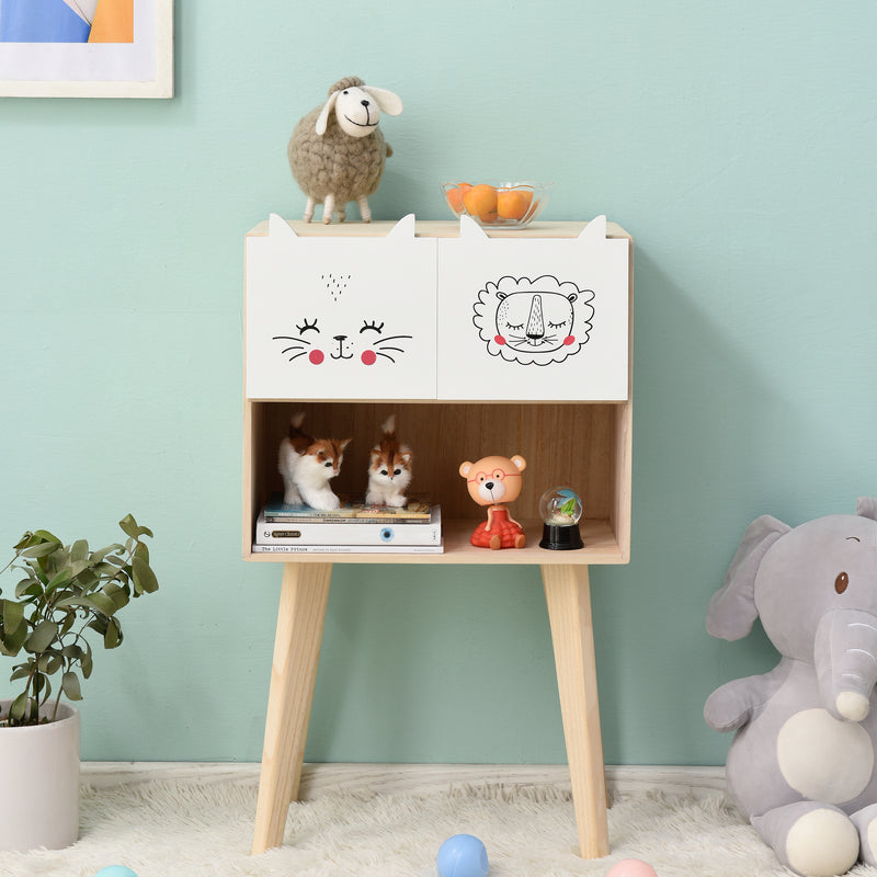 Lionhead 2 Drawer and 1 Shelf Childrens Bedroom Furniture FSC-Certified 2