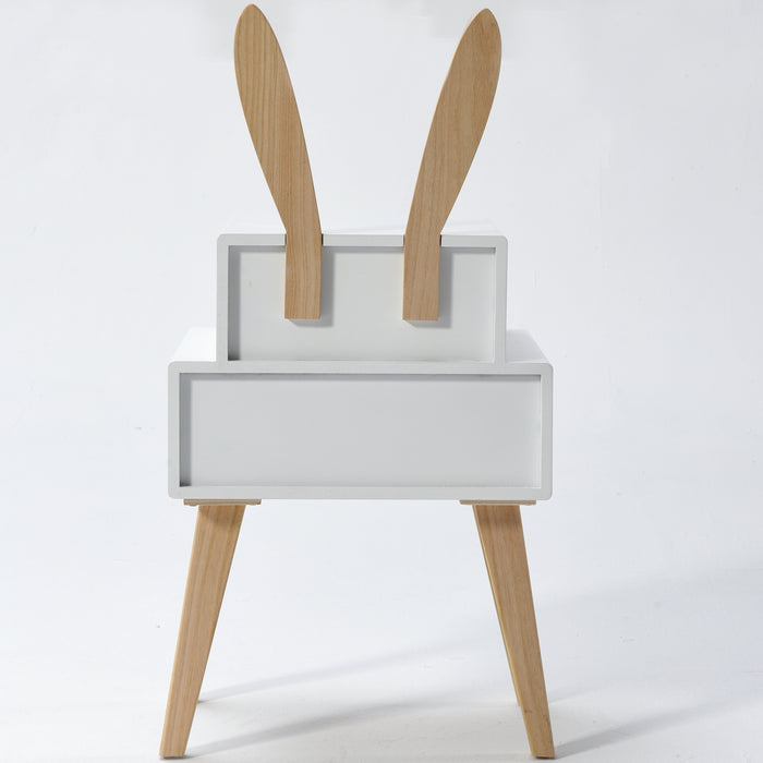 Bunny 2 Drawer Bedside Table FSC-Certified 5