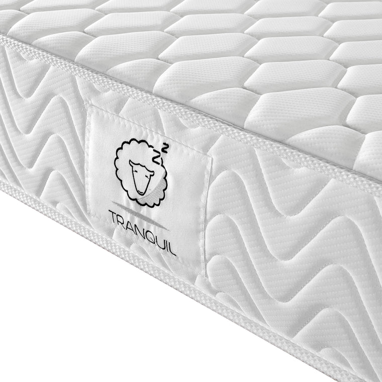 TRANQUIL Mattress TRA-01, Hybrid Mattress of Pocket Spring & Memory Foam