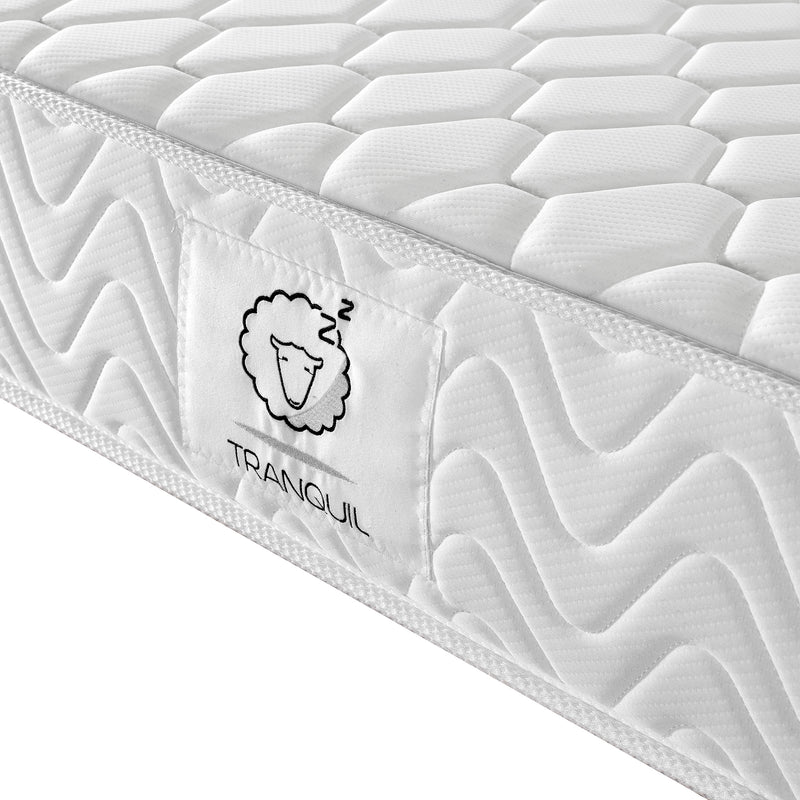 tranquil mattress tra 01 pocket spring with memory foam