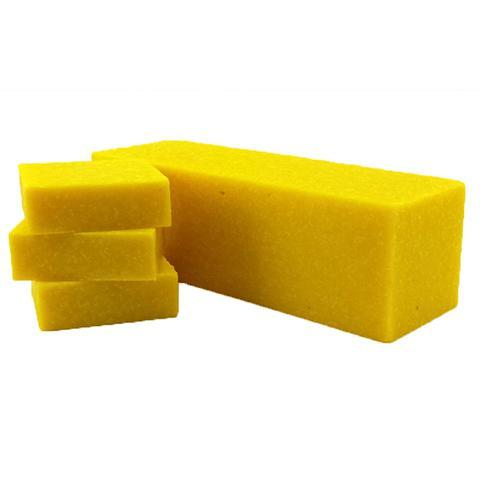 Lemon Zest Scrub - Hand Made Soap - Bath - Syrah Home
