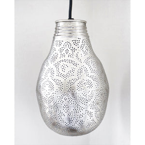 Bella Etched Moroccan Light, Moroccan lighting, Little Light Bazaar