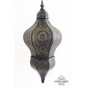 Carmen Moroccan Hanging Lantern, Moroccan lighting, Little Light Bazaar