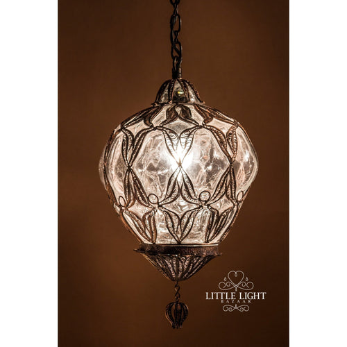 Malika-pendants-littlelightbazaar-Filigree pendant - large-Little Light Bazaar