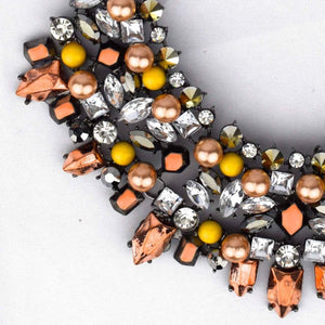 Metallic Necklace-Accessories-George & Augie-Copper-Little Light Bazaar